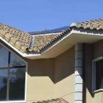 Placas fotovoltaicas en chalet